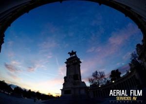 El Retiro Madrid eldrone.es Abril 2016