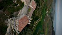 Santuario de Santa Casilda a vista de Drone